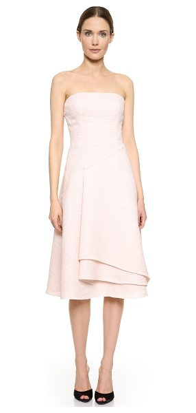 Jason Wu Strapless flounce dress in petal - A strapless Jason Wu dress cut from luxurious silk...