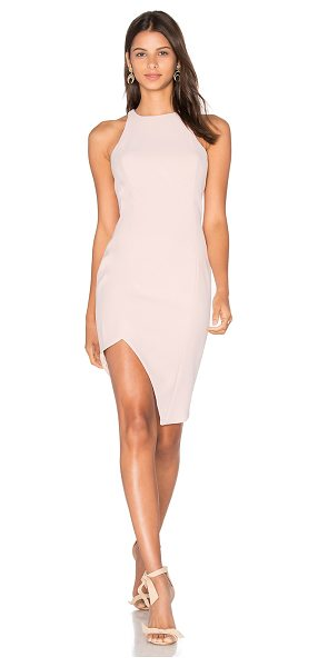 Jay Godfrey Gallagher Dress in pink - 92% poly 8% poly. Dry clean only. Fully lined. Racerback...