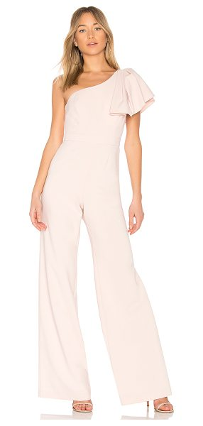 "Jay Godfrey Hamilton Jumpsuit in pink - ""92% poly 8% polyurethane. Dry clean only. Hidden back..."