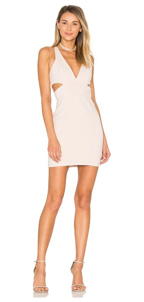 Jay Godfrey Krooger Dress in blush - 98% poly 2% spandex. Dry clean only. Fully lined. Side...