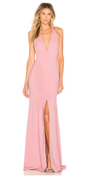 Jay Godfrey lena gown in antique pink