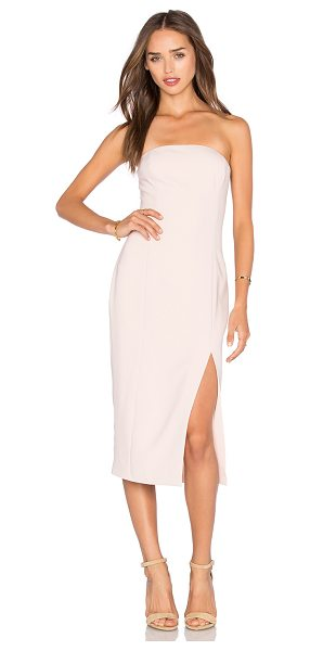 Jay Godfrey Thompson Dress in blush - 92% poly 8% polyurethane. Dry clean only. Fully lined....