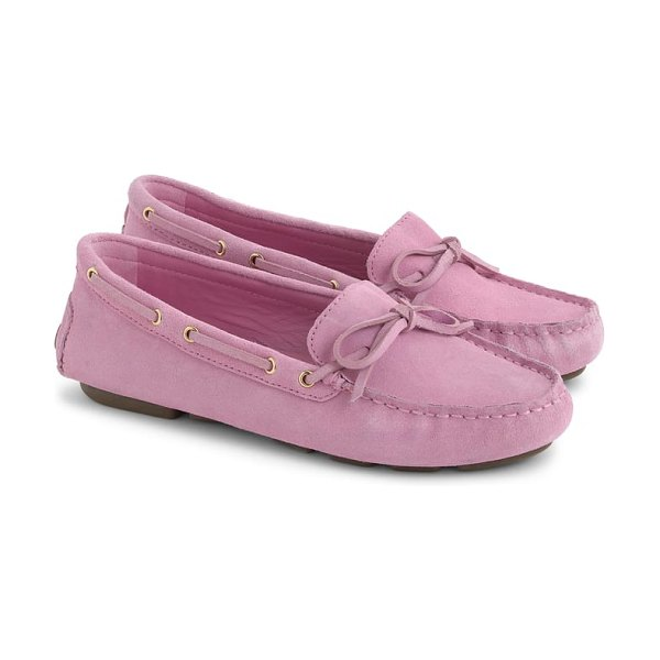 J.Crew driving moccasin in pink