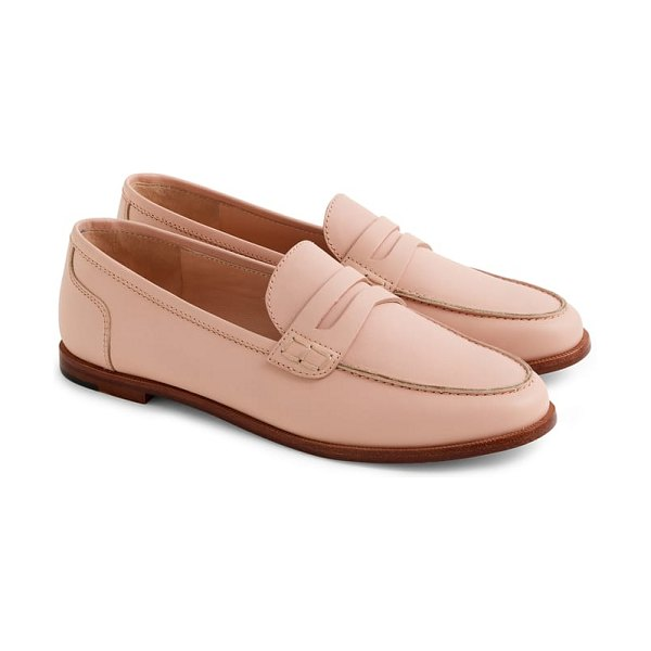 J.Crew ryan penny loafer in pink