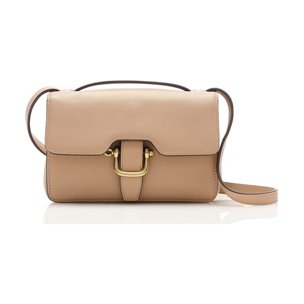 J.CREW edit bag in pale stone - J.Crew sized down its newest leather bag so that it...
