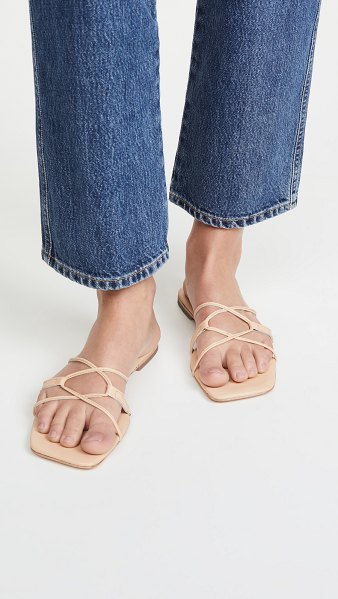 Jeffrey Campbell adison sandals in natural