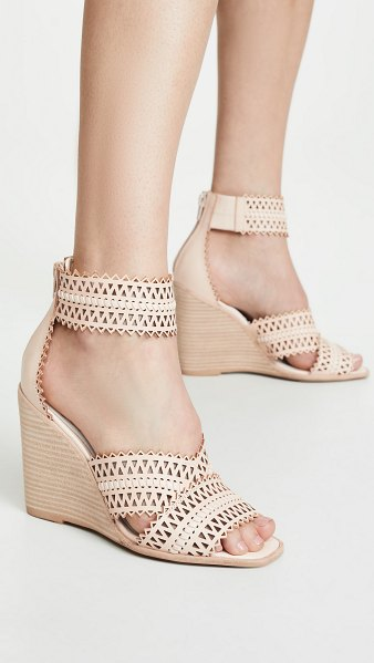 Jeffrey Campbell besante st wedge sandals in natural