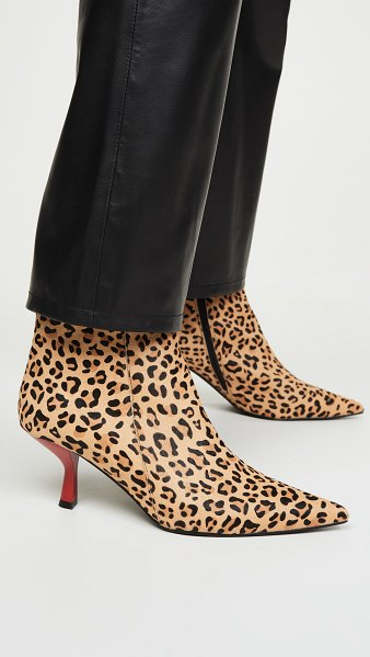 Jeffrey Campbell egnyte f booties in beige cheetah red