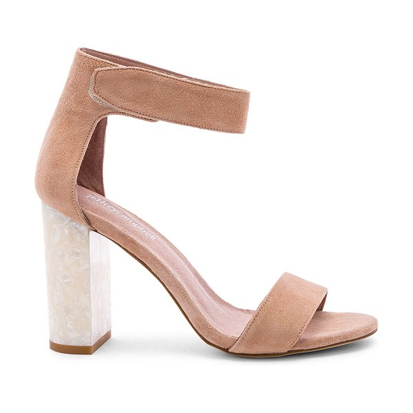 Jeffrey Campbell lindsay heel in blush suede - Jeffrey Campbell Lindsay Heel in Blush. - size 7 (also...