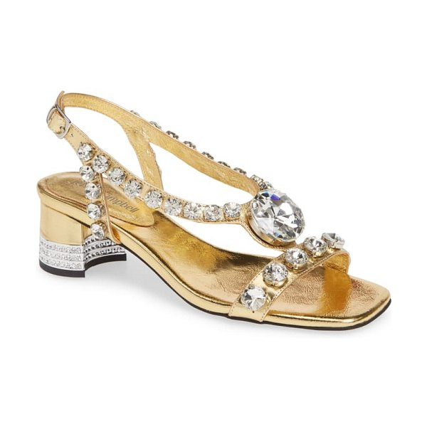 Jeffrey Campbell stasia sandal in metallic