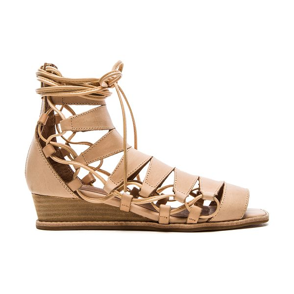 JEFFREY CAMPBELL Zaferia sandal - Leather upper with man made sole. Wedge measures approx...