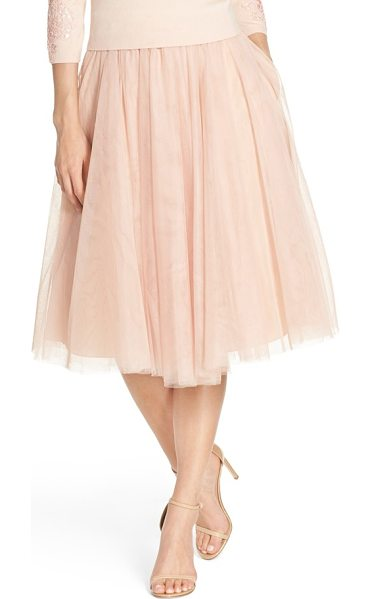 Jenny Yoo 'lucy' tulle skirt in cameo pink - An A-line skirt offers delightful flounce sewn from...