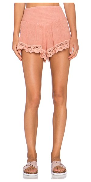 "JEN'S PIRATE BOOTY X revolve exclusive cozumel shorties - 100% cotton. Hand wash cold. Shorts measure approx 12""""..."