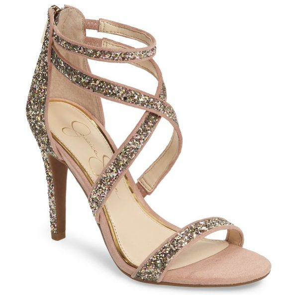 Jessica Simpson ellenie sandal in champagne mu - Complete your date-night ensemble with this strappy...