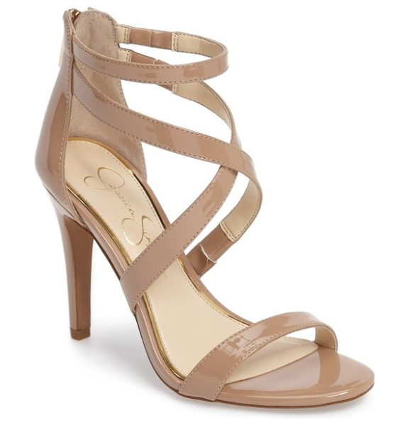 Jessica Simpson ellenie sandal in nude - Complete your date-night ensemble with this strappy...