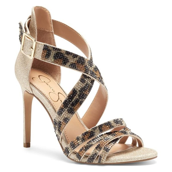 Jessica Simpson mahley strappy sandal in beige