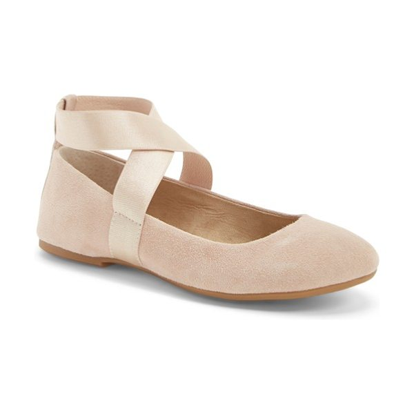 Jessica Simpson mariza ballet flat in sandbar - For a style that's on pointe, a nubuck leather flat is...