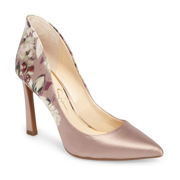 Jessica Simpson parma pointy toe pump in nude multi - Refresh your look for any special occasion with this...