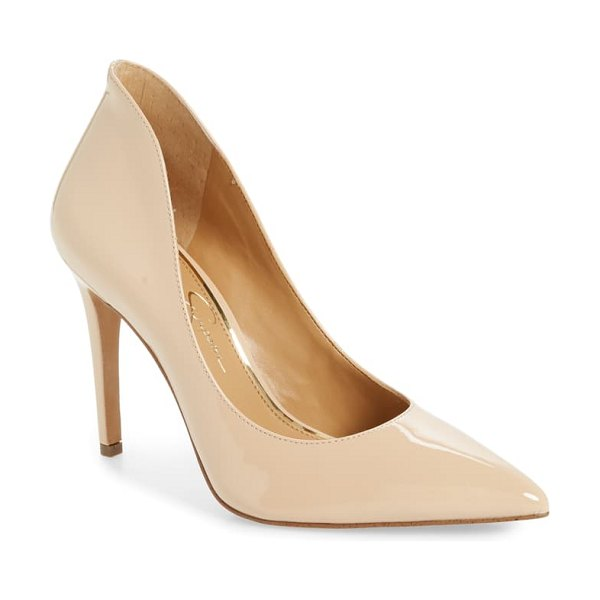 Jessica Simpson parthenia pointed toe pump in beige
