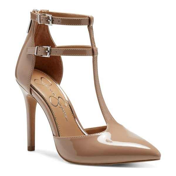 Jessica Simpson pyllah pump in beige