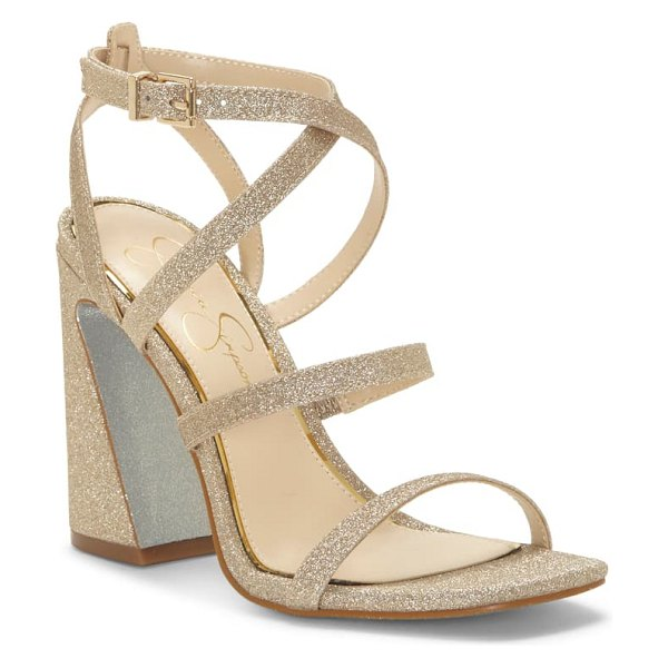 Jessica Simpson raymie strappy sandal in metallic