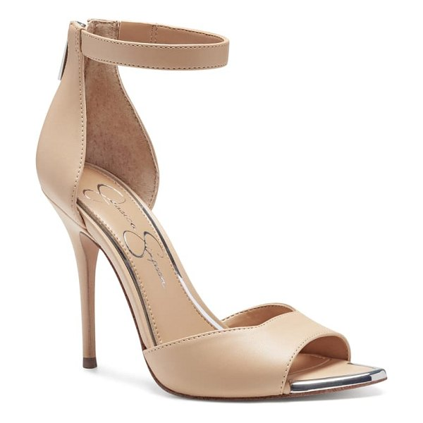 Jessica Simpson witrey pointed toe sandal in beige