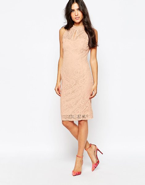 JESSICA WRIGHT Lace midi dress - Midi dress by Jessica Wright Lined lace woven fabric...
