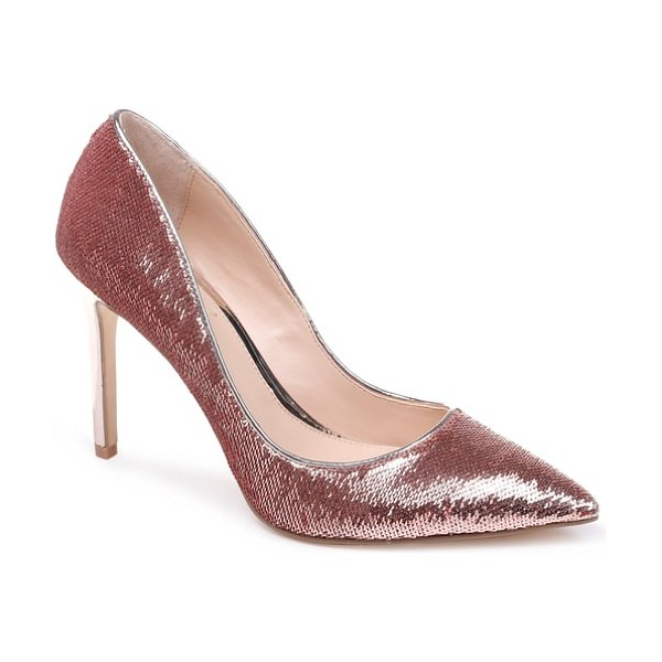 JEWEL BADGLEY MISCHKA jade pump in pink