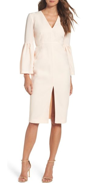 Jill Jill Stuart bell sleeve dress in powder