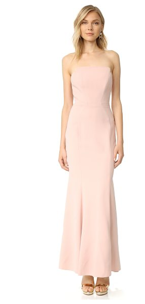 Jill Jill Stuart strapless dress in rosy nude - Curved seams create a tailored profile on this strapless...
