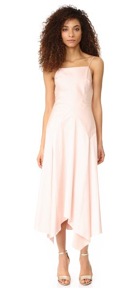 Jill Stuart lizzy dress in powder - NOTE: Runs true to size. Angled seams accent this Jill...