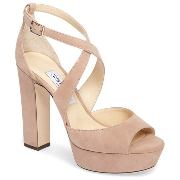 Jimmy Choo april platform sandal in pink
