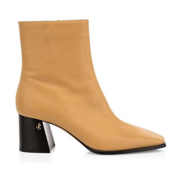 Jimmy Choo bryelle leather ankle boots in butter rum