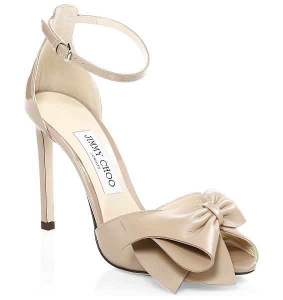0caae3228 Jimmy Choo karlotta peep toe heels in ballet pink - From the Saks IT LIST  HIGH