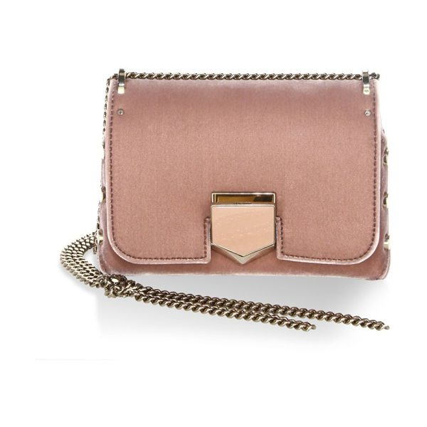 Jimmy Choo lockett petite convertible clutch in ballet pink - Dual styled clutch featuring side studded details....