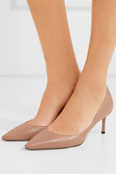 Jimmy Choo romy 60 leather pumps in neutral