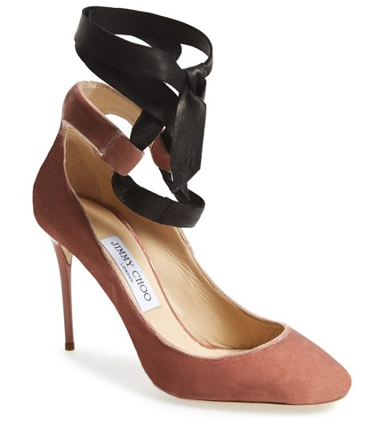 JIMMY CHOO rosana pump - Inspired by the sense of discipline and artistry that...