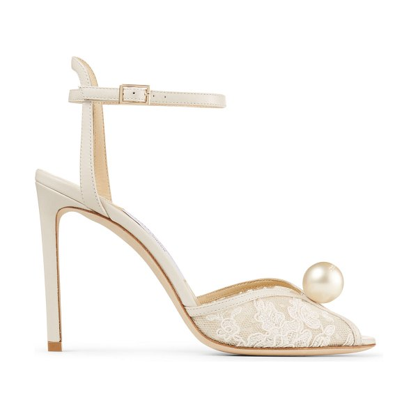 Jimmy Choo Sacora 100 in neutral