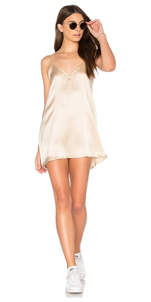 JOAH BROWN Shimmy Dress in cream - Silk blend. Dry clean only. Unlined. JOAR-WD5. 286DRS....