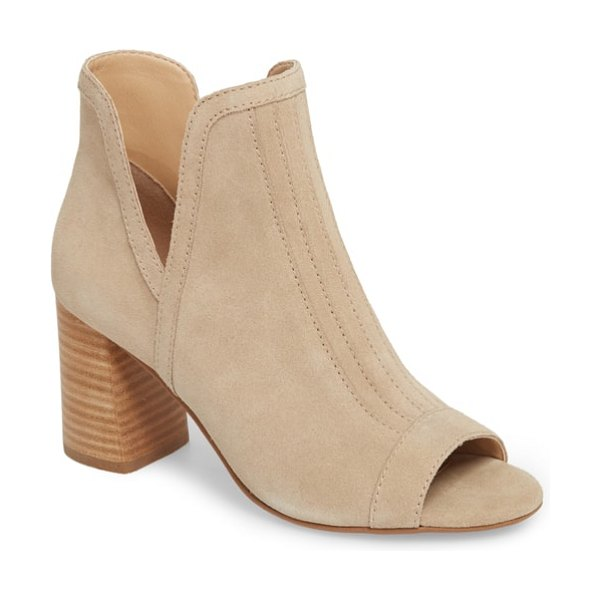 Joe's marla bootie in beige - Keep your casual style ahead of the curve with a...