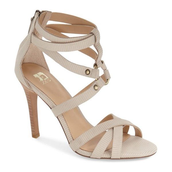 Joe's verona ii cage sandal in latte leather