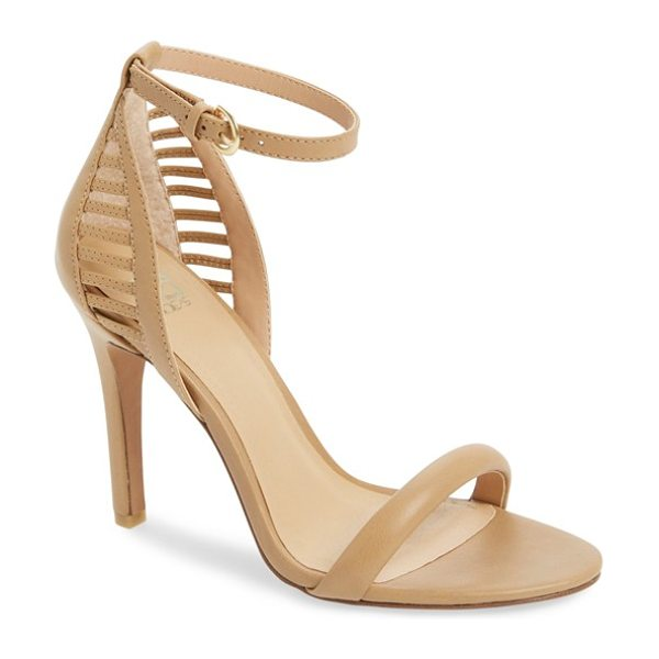 JOE'S virgil cutout ankle strap sandal - Laddered geometric cutouts open up the back of a...