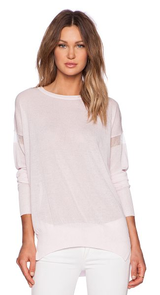 John & Jenn by Line Eve pullover in pink