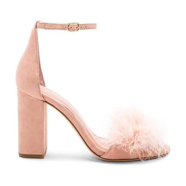 Joie Adhra Feather Heel in blush