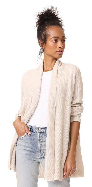 Joie bryna cardigan in heather oatmeal - A voluminous Joie cardigan in a super-soft cashmere...