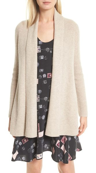 JOIE bryna wool & cashmere cardigan - Finely ribbed in a soft, luxe blend of wool and...