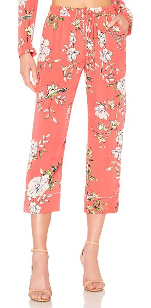 "JOIE Daltona Pant - ""Poly blend. Dry clean only. Elasticized drawstring..."