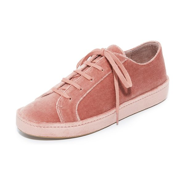 Joie daryl sneakers in light mauve - A covered platform adds playful style to these plush...