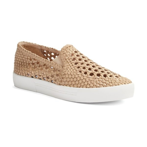 JOIE dewey slip-on sneaker in powder - Get in on this season's athleisure trend with this...