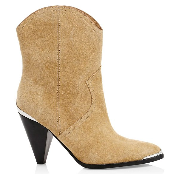 Joie garner suede ankle boots in tan